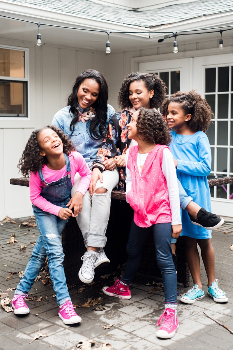 Wynter Pitts with Girls